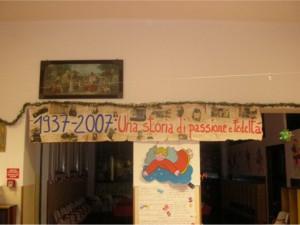 70° anniversario (8 dicembre 1937 – 8 dicembre 2007)
